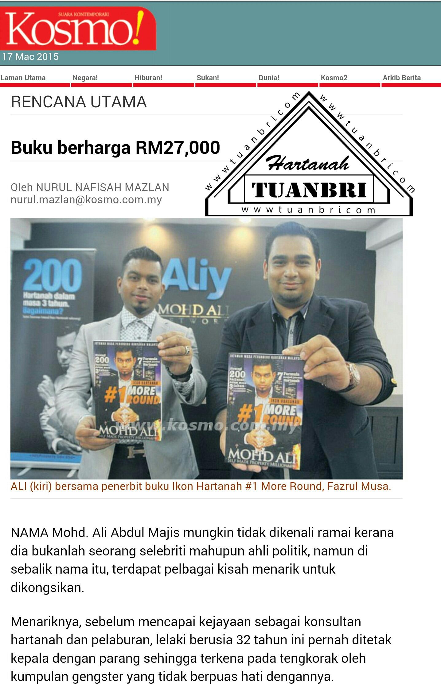 Buku Hartanah Paling Mahal di Malaysia